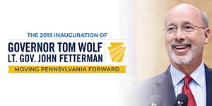 Swearing-In Ceremony of Tom Wolf and John Fetterman