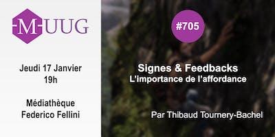 MUUG #705 - Signes & Feedback - Thibaud Tournery-Bachel