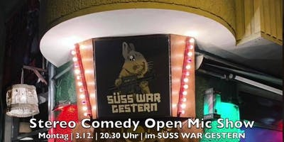 Stereo Comedy Open Mic Show - Special: Ein Jahr St