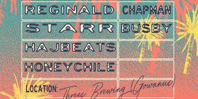 Reginald Chapman,  Starr Busby, Hajbeats, Honeychile