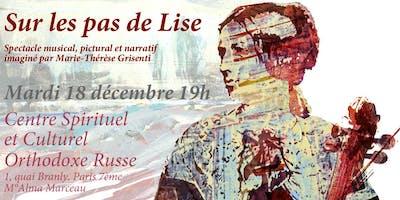 Concert narratif «SUR LES PAS DE LISE»
