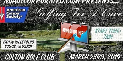 "Advertising For ""Golfing For A Cure"""