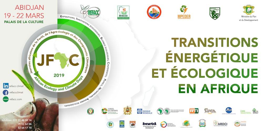 """Résultat de recherche d'images pour """"Journées africaines de l'écologie et des changements climatiques"""""""