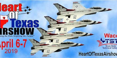 Heart Of Texas Airshow - April 6-7, 2019 SUNDAY Tickets
