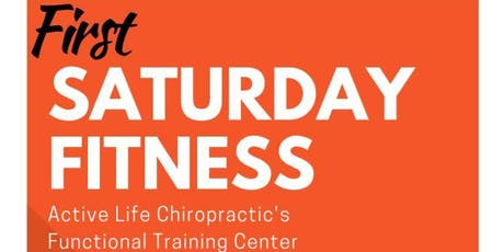 September's FIRST Saturday Fitness tickets