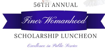 56th Annual Finer Womanhood Scholarship Luncheon