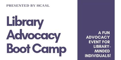 Library Advocacy Boot Camp