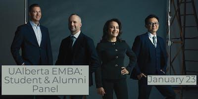 UAlberta Executive MBA: Student and Alumni Panel