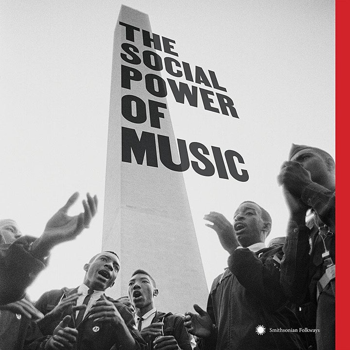 """Smithsonian Folkways """"The Social Power of Music"""" Listening Event! image"""