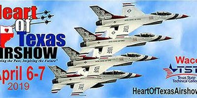 Heart Of Texas Airshow - April 6-7, 2019 SATURDAY Tickets