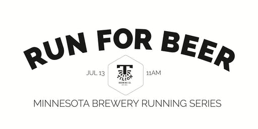 Beer Run - Tilion Brewing - Part of the 2019 MN Brewery Running Series