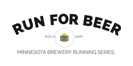 Beer Run - Bauhaus Brew Labs - Part of the 2019 MN Brewery Running Series