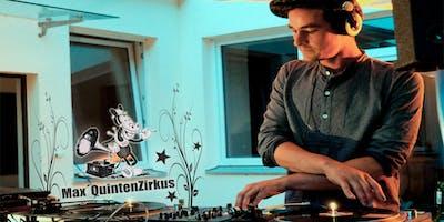 FRAU HEDIS FRÜHLINGSPARTY mit DJ MAX QUINTENZIRKUS