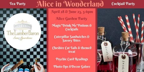 Alice in Wonderland Tea & Potion Party tickets