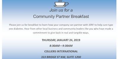 JDRF Community Partner Breakfast