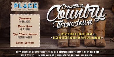 Downtown Country Throwdown
