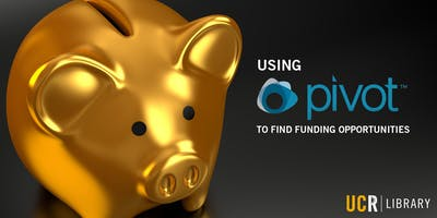 Using Pivot to Find Funding Opportunities