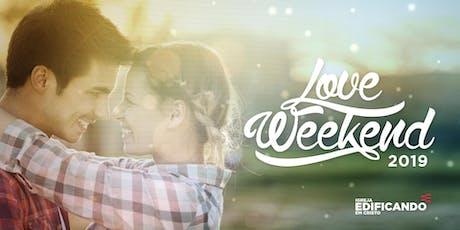 LOVE WEEKEND - 2019 ingressos