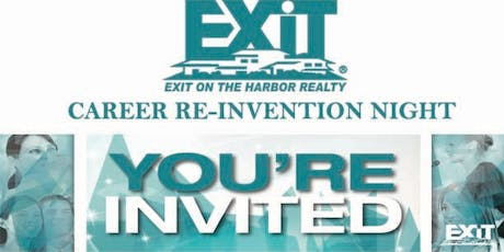 EXIT On The Harbor Realty Career Re-Invention tickets