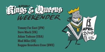 FRÜHLINGSPARTY: KINGS & QUEENS