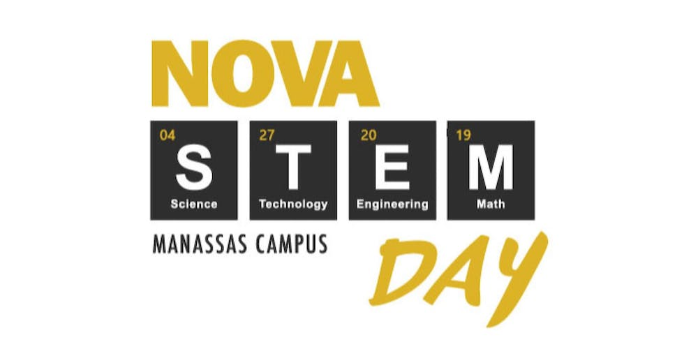Nvcc Manassas Campus Map.Nova Stem Day Manassas Campus Tickets Sat Apr 27 2019 At 10 00