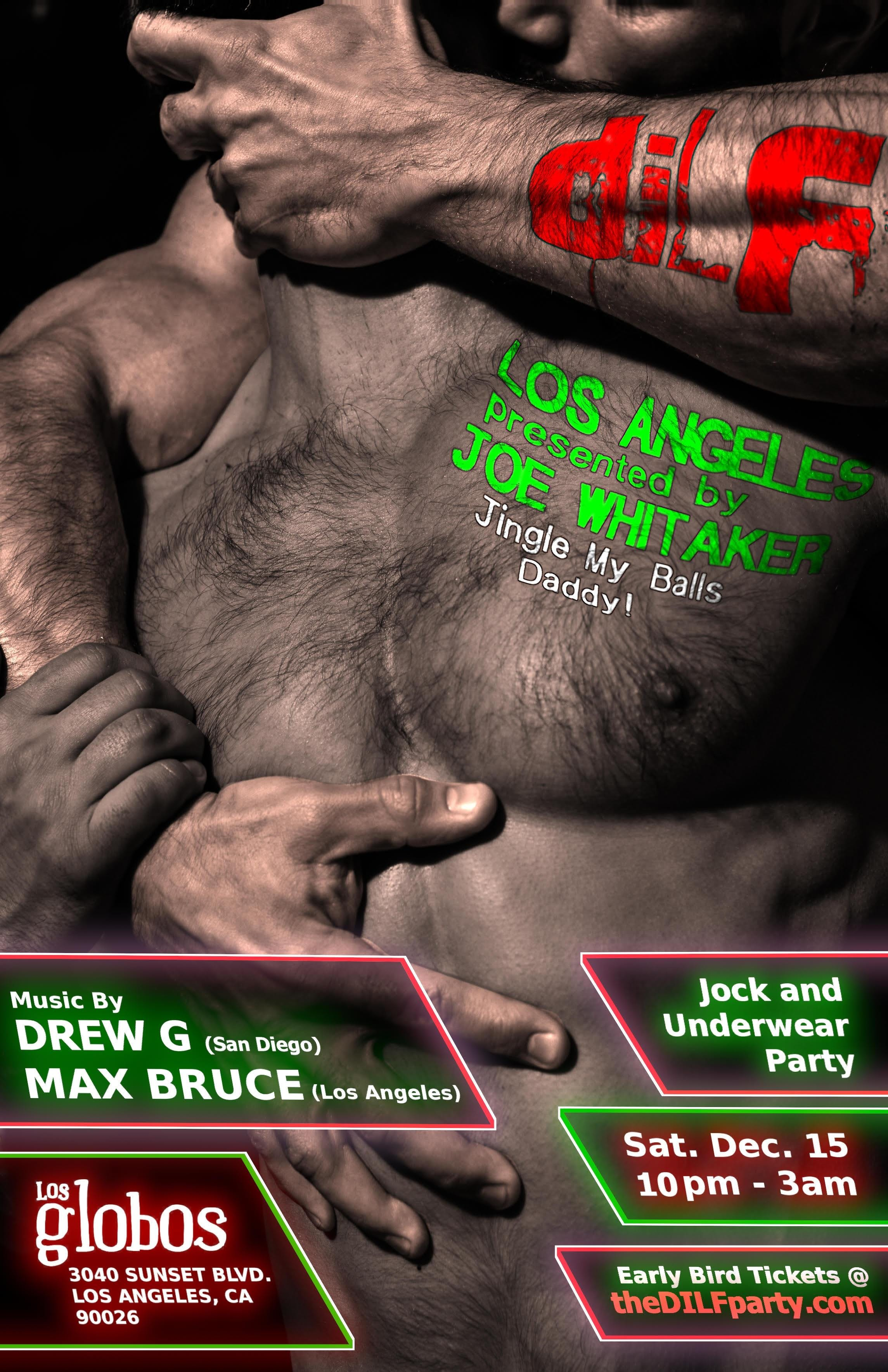 "DILF Los Angeles ""Jingle My Balls"" Jock Party"