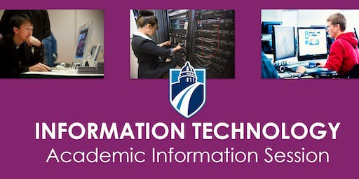 IT Academic Information Session (Spring & Summer 2019)