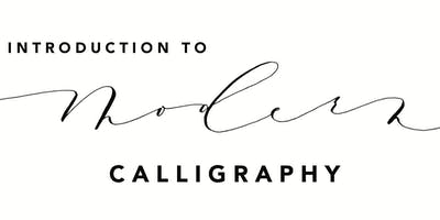 Intro to Modern Calligraphy - Workshop by Fête & Quill