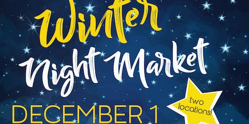 New West Winter Arts & Crafts Night Market - Wine, Beer, and Art
