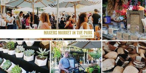 制造商市场在公园-桑塔纳排!每月一次的工艺展!