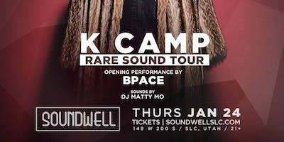 K Camp - Rare Sound Tour