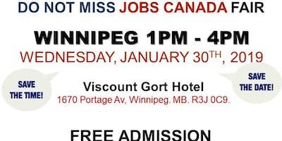 Winnipeg Job Fair – January 30th, 2019