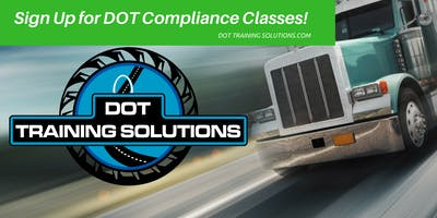 DOT 101 Compliance Workshop, St. Louis/Maryland Heights, MO