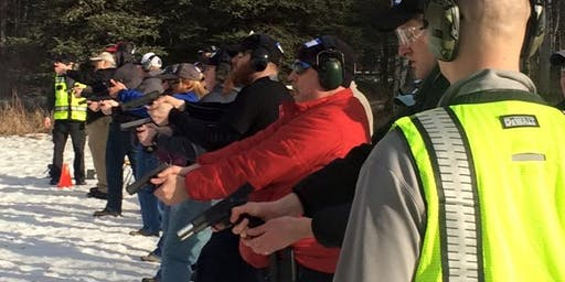 Women's Basic Pistol Course-Anchorage