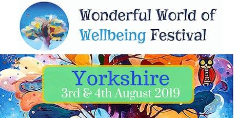 Wonderful World of Wellbeing Yorkshire tickets