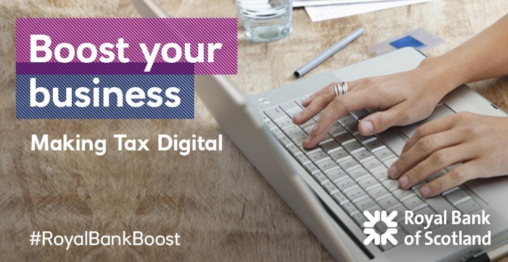 Making Tax Digital with HMRC #mtd #RoyalBankB