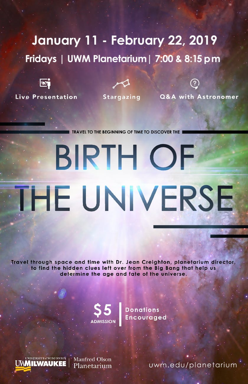 Birth of the Universe