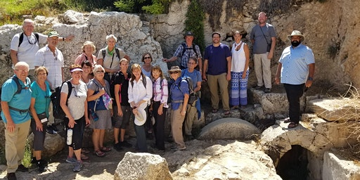 The Footsteps of Jesus Experience w Eric Laverentz and John Walker