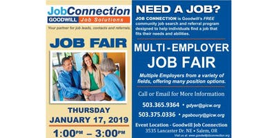Job Fair - Salem - 1/17/19