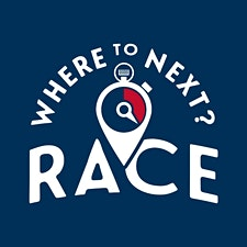 Where to Next? Race logo