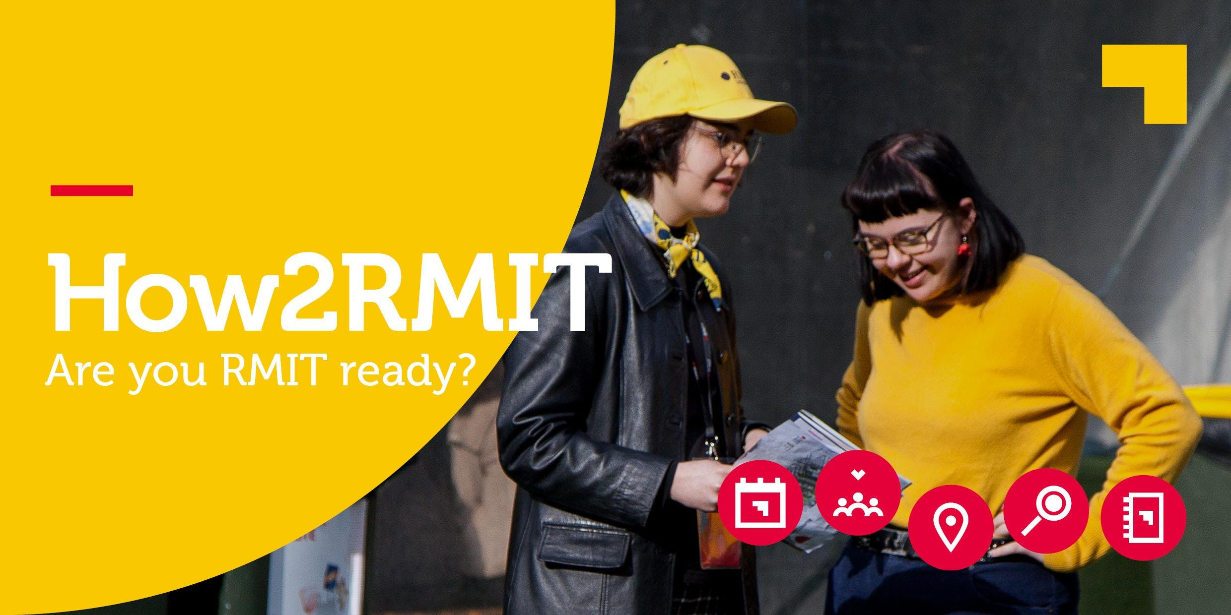 ***BOOKED OUT*** How2RMIT Induction (City Cam