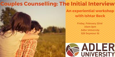 Couples Counselling: The Initial Interview