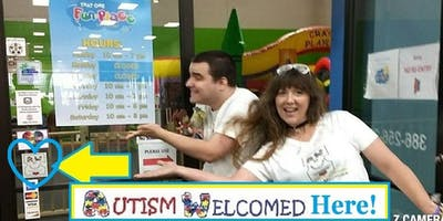 Autism Welcomed Decal\