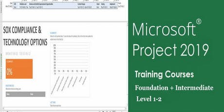 Managing Projects using MS.Project 2019 - Weekdays Classroom tickets