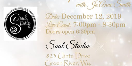 "LIVE ""SPIRIT CONNECTION"" EVENT WITH SALT LAKE MEDIUM, JO'ANNE SMITH"