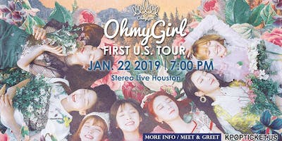 OH MY GIRL FIRST U.S. TOUR - Houston