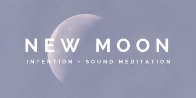 February New Moon : Intention & Sound Meditation