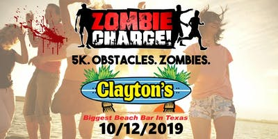 ZOMBIE CHARGE - SOUTH PADRE ISLAND - OCTOBER 12, 2019