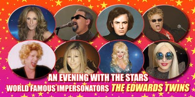 An Evening with Cher, Andrea Bocelli, Bette Midler & Streisand The Edwards Twins Las Vegas
