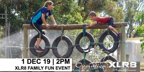 XLR8 Family Fun Obstacle Course Event tickets